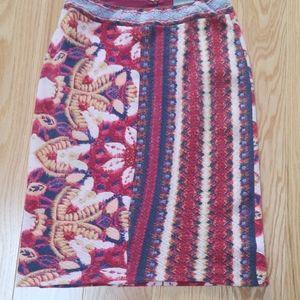 Anthropologie beautiful pencil skirt!